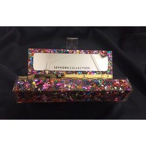 NWT Sephora Collection Make Up Brush Glitter Case